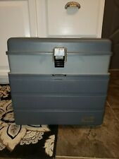 Plano model Tackle Box 3 Tray Fishing Tool Storage Organizer Lures Bait Tool