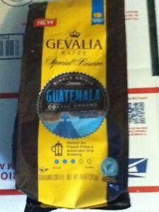 Gevalia Kaffe Special Reserve Guatemala Course Ground Coffee 10 oz pouch
