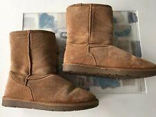 Le donne SoulCal And Co Work Boot nero blu lacci con chiusura a zip imbottito alla caviglia UK 5