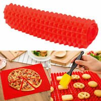 Silicone Pyramid Pan Tray Kitchen Baking Mat For Healthy Stic Non Cooking P8L0