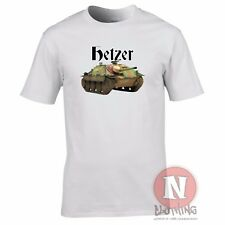 Hetzer tank destroyer WW2 German military armour T-shirt World of war Tanks WWII