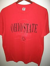 Ohio State University OSU Buckeyes College Football Vintage 1992 USA T Shirt XXL