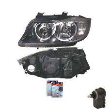 Headlight Left For BMW 3 E90 01.05- with Motor Incl. Osram Incl. Motor