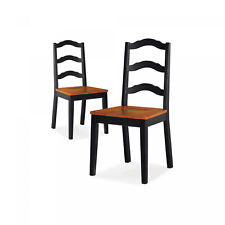 Dining Chairs Wood Kitchen Modern Room Office Home Furniture Decor Set Of 2 New