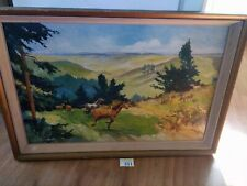 Horse Framed Oil Painting Stephen Martin