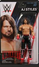 AJ Styles WWE Mattel Basic Series 87 Brand New Action Figure Mint Packaging