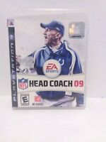 NFL Head Coach 09 (Sony PlayStation 3, 2008)  Game and Case Tested Fast Shipping