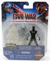 Marvel Civil War Vision vs Black Panther Miniverse Figure Toy Captain America