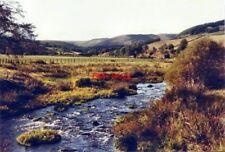 PHOTO  BURNFOOT PERTH RIVER DEVON AT GLENDEVON IN 1984