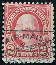 US 2c Washington #634  Stamp AIRMAIL MARK - Antique