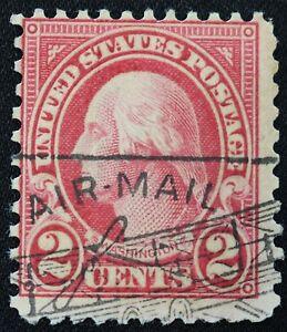US 2c Washington #634  Stamp AIRMAIL MARK - Antique