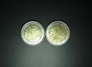 2 euro 2004 + 2012 FINLANDE 2 euro COMMEMORATIVE  circulated