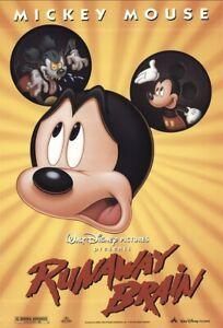 Disney's 'RUNAWAY BRAIN' (1995) 16mm Film - Mickey Mouse Animated Short