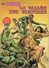 CONAN La vallée des vampires ARTIMA COLOR 1981
