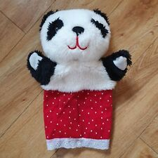 SOO SUE PANDA HAND PUPPET PLUSH SOFT TOY SOOTY AND SWEEP VINTAGE RETRO 2012 SPOT