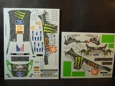 DECALS 1/24 FORD FIESTA RS WRC #43 K.BLOCK ALLEMAGNE 2011   - COLORADO 24133 UV
