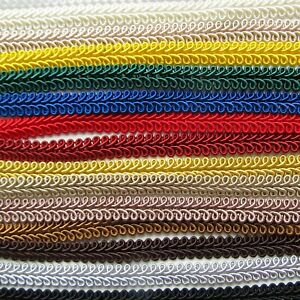 SCROLL BRAID 10mm Width Per Metre Upholstery Furnishing Gimp Trim DISCOUNT 2+
