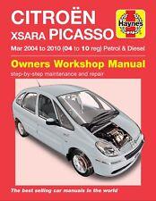 Haynes Manual 4784 Citroen Xsara Picasso 1.6i 1.8i 2.0i Petrol 1.6 HDi 2.0HDi