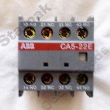 ABB CONTACTOR AUX BLOCK (40235)