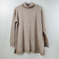 Talbots XL Cowl Neck 100% Pure Merino Wool Long Sleeve Sweater