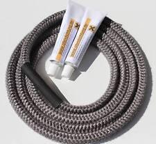 Ofendichtung Kaminofen für Eco Hark Ofen Dichtschnur mit Draht 10mm Dichtschnur
