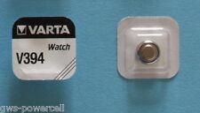 50 x VARTA Uhrenbatterie V394 SR936SW 56mAh 1,55V SR45 Knopfzelle AG9