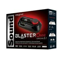 New Creative Sound Blaster Omni Surround 5.1 Pro USB External Sound Audio Card