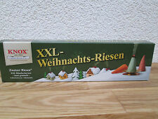 KNOX Räucherkerzen XXL-Weihnachts-Riesen 5 Räucherkerzen + Glimmschale