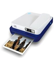 KODAK Smile Classic Digital Instant Camera with Bluetooth (Blue) 16MP Picture...