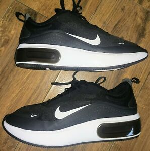 Women's Nike Air Max Dia Trainers in Black / Black-White In Size 7.5 UK