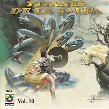 Carlos Guerrero Orquesta Salome Titanes De La Salsa Vol 10 CD No Plastic Seal