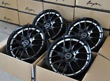 Breyton GTS-AV matt black 4 Felgen 8,5 x 19 Zoll ET45 Golf 5 + 6 + 7 + GTI + R