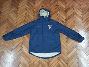 Croatia Soccer Winter Stadium Coat Nike Hrvatska Football Jacket Kroatien Jacke