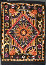 Tapestry Wall Hanging Zodiac Horoscope Cotton Astrology Art Poster Dorm TIE-DYE