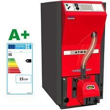 ATMOS Pelletkessel PX 15 mit 175L Pelletbehälter und A25PX Brenner 3.500 € BAFA