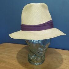 New listing Dobbs Fifth Avenue, N.Y . Sz. 7.5 Vintage Classic Panama Hat Excellent Condition
