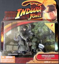 Indiana Jones Soldado Alemán con motocicleta Ultima Cruzada 2008 HASBRO menta en tarjeta