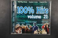 100% Hits Volume 21 - 1996 - Hip Hop, Rock, Pop - 18 Track CD (C479)