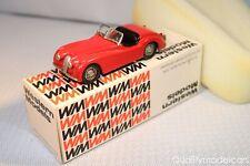 Western models WMS 6 Jaguar XK120 Roadster red perfect mint in box