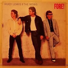 Huey Lewis Fore LP vinyl - Billy Idol Foreigner Madonna Martika U2 The Fixx