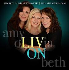 Amy Sky Olivia Newton-John Beth Nielsen Chapman - Liv On (NEW CD)
