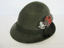 Allgauer Lodenhut Tyrolean wool felt hat - 55cm (Small)