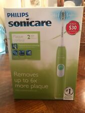 Philips Sonicare HX6211/48 Series 2 Plaque Control Electric Toothbrush Guacamole