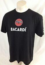 "Bacardi Black T-Shirt ""Party with the Original Mardi Gras Cocktail"" Men's XL"