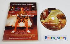 DVD Lost In Translation - Bill MURRAY - Scarlett JOHANSSON