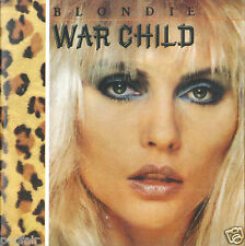 BLONDIE - WAR CHILD / LITTLE CAESAR / WAR CHILD (EXTENDED) CD SINGLE CARD SLEEVE