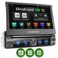 Autoradio mit DVD CD Android 10 2gb 32gb Navi GPS Usb Sd Bluetooth Wifi 1DIN