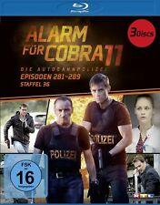 ALARM FÜR COBRA 11 STAFFEEL 36 BD 3 BLU-RAY NEW