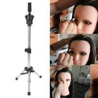 New Adjustable Tripod Stand Holder Mannequin Head Tripod Hairdressing Training H