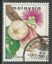 Malaysia 1999 - Obst - Wasserapfel - Jambu Bol - gestempelt - SG719